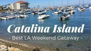 TRIP TO CATALINA ISLAND - BEST BIRTHDAY WEEKEND GETAWAY