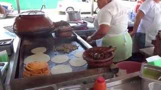Yummy street tacos in Puerto Vallarta, Mexico