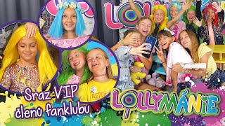 LOLLYMÁNIE - Členky fanklubu si zahrály na Lollipopz