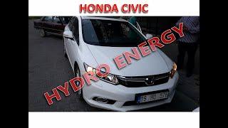 Honda cıvıc 1.6 hidrojen yakıt sistem montajı