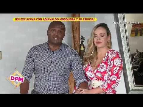 Aquivaldo Mosquera revela todo sobre su relación con Karla Pineda | De Primera Mano