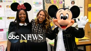 Teacher And Disney Super-fan Surprised With Trip To Disney Parks Around The Globe