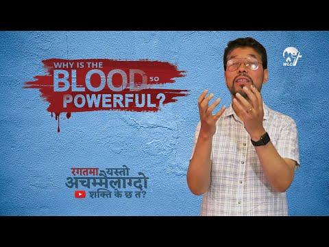 रगतमा यस्तो अचम्मैलाग्दो शक्ति के छ त? | Why is the Blood so powerful?