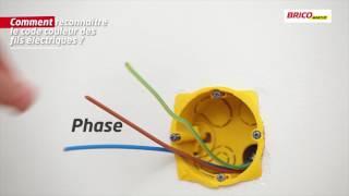 Comment reconnaître le code couleur des fils électriques ?