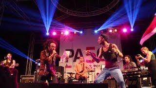Gambar cover Live in Jakarta: Uwe Kaa - Rund Um Die Uhr feat. Ras Muhamad & Easy Skankin´ Band [2013]