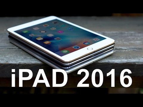 Какой Apple iPad купить в 2016?