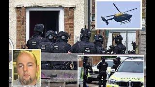 Joseph McCann Search By Armed Police Raid Watford House