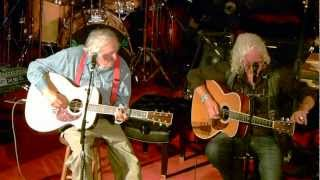 Arlo Guthrie & Ramblin Jack Elliott - Guthrie Center - Oct 7, 2012