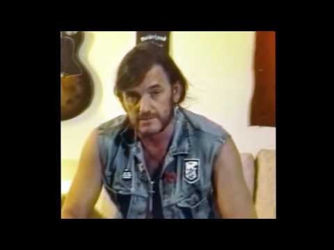 Lemmy gives advice to a black kid who is being picked on for liking metal