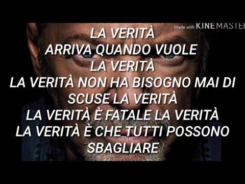 Vasco Rossi - La Verità (Testo con Audio e Lyrics Video)