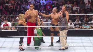 Main Event August 21, 2013 Jack Swagger vs Great Khali