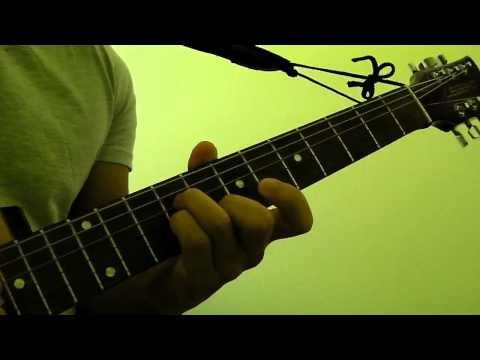 How to Play  Em (E Minor) Guitar Bar Chord