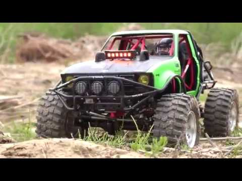 Axial RR10 Bomber Rock Racer & Toyata Hilux Custom Truggy │Off Road Trail