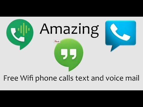 How to setup a Android phone to make and receive free calls, text and voice mail