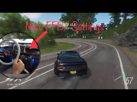 New wheel settings that work wheel for drifting / Horizon 4