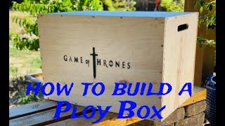 How To Build A Plyo Box 2020 | DIY Game Of Thrones Plyometric CrossFit Jump Box