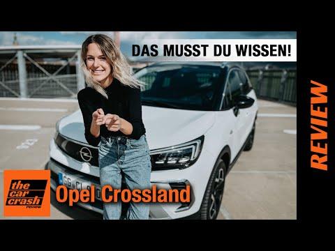 Opel Crossland (2021) Das musst du wissen! 👉🏼🤓 Fahrbericht | Review | Test | Preis | Automatik