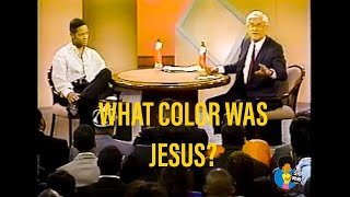 What Color Was Jesus? (1993) | COMPLETE | Donahue w/ Blair Underwood