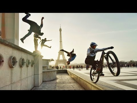 Mountain Biking & Parkour All the Way From London to Paris