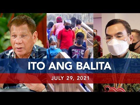 [UNTV]  UNTV: ITO ANG BALITA | July 29, 2021