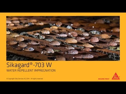 How to: Sikagard® -703 W