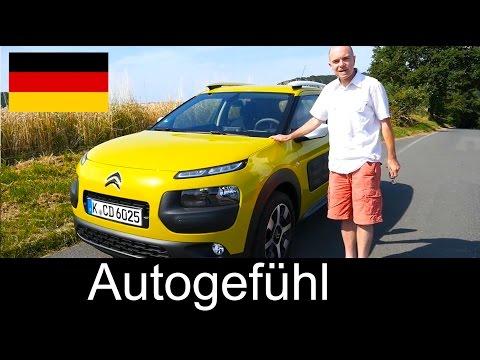 2015 Citroen C4 Cactus Testbericht review DEUTSCH - Autogefühl