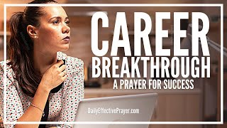 PRAYER OF BREAKTHROUGH FOR EMPLOYMENT AND FINANCIAL NEEDS