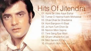 Hits Of Jitendra Old Hindi Songs | Best Bollywood Songs | Jukebox Collection