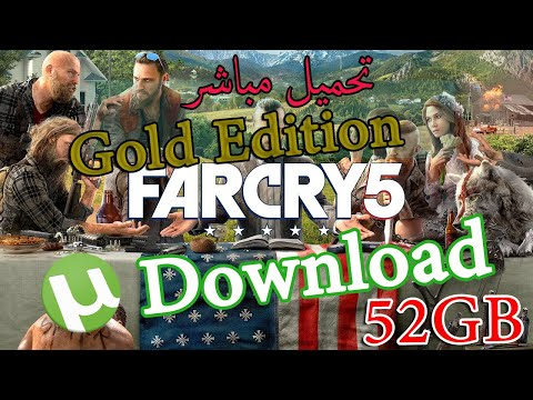 FarCry5 Gold Edition | Download Torrent  | تحميل لعبة | free