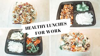 SIMPLE & AFFORDABLE HEALTHY LUNCHES TO BRING TO WORK: HEALTHY BACK TO SCHOOL LUNCHES