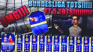 FIFA 16 PACK OPENING DEUTSCH  FIFA 16 ULTIMATE TEAM  5x BUNDESLIGA TOTS IN PACKS OMG