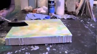 Encaustic Painting: Cari Hernandez