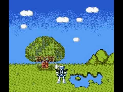 Robo Warrior (8-Bit NES Game) - Final Scene