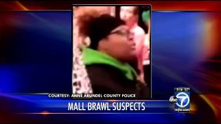 Annapolis Mall Victoria's Secret Black Friday fight suspects sought