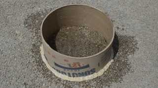 ASTM c1701 Pervious Concrete Infiltration Test - Concrete Brief