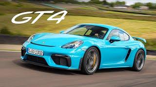 NEW Porsche 718 Cayman GT4: Track Review | Carfection 4K
