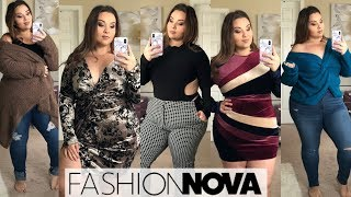 Fashion Nova Curve Fall Haul! 🍂  |Plus Size Fashion|