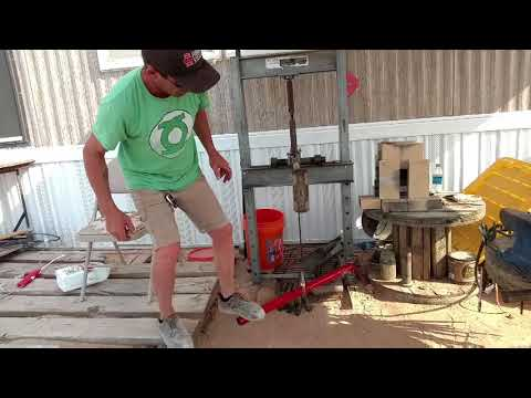 How to Make a Power Hammer Part 2 (treadle hammer