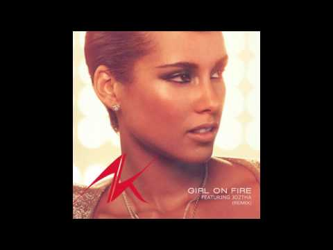 Alicia Keys- Girl On Fire Ft.  JO2THA (REMIX)