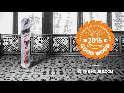 Best Men's All Mountain Snowboards : Capita Mercury : 2015-2016 Good Wood Board Test