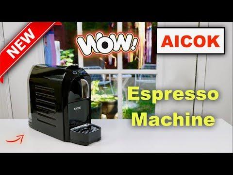 😍 AICOK Espresso Nespresso Machine - Review ✅