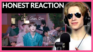 HONEST REACTION to BTS (방탄소년단) 'Life Goes On' Official MV