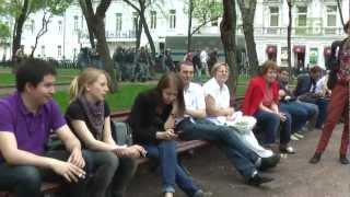 Москва в день инаугурации