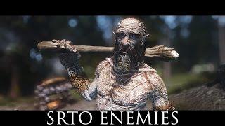 TES V - Skyrim Mods: Skyrim Realistic Texture Overhaul Enemies
