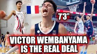 "7'3"" Victor Wembanyama Was UNSTOPPABLE At The Fiba World Cup! Future #1 PICK!? 🔥"
