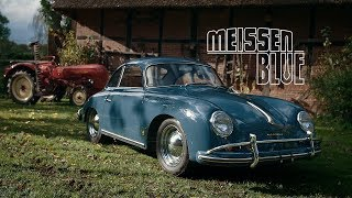 1958 Porsche 356A 1600 Super: Meissen Blue, Not Messed With