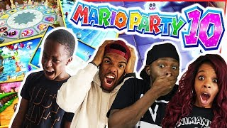 MINI GAMES! MINI GAMES! BUT THE TENSION IS HUGE!! - Mario Party 10 Gameplay