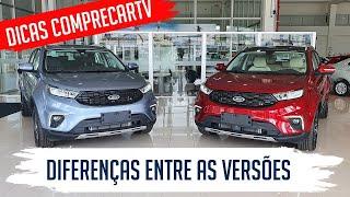 Ford Territory - Diferenças entre as Versões SEL e