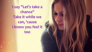 Avril Lavigne - Falling Fast (Lyrics)
