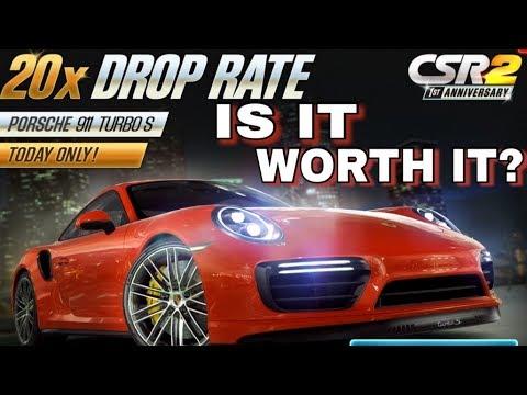 CSR2 Porsche 911 Turbo S Fastest Tune - смотреть онлайн на